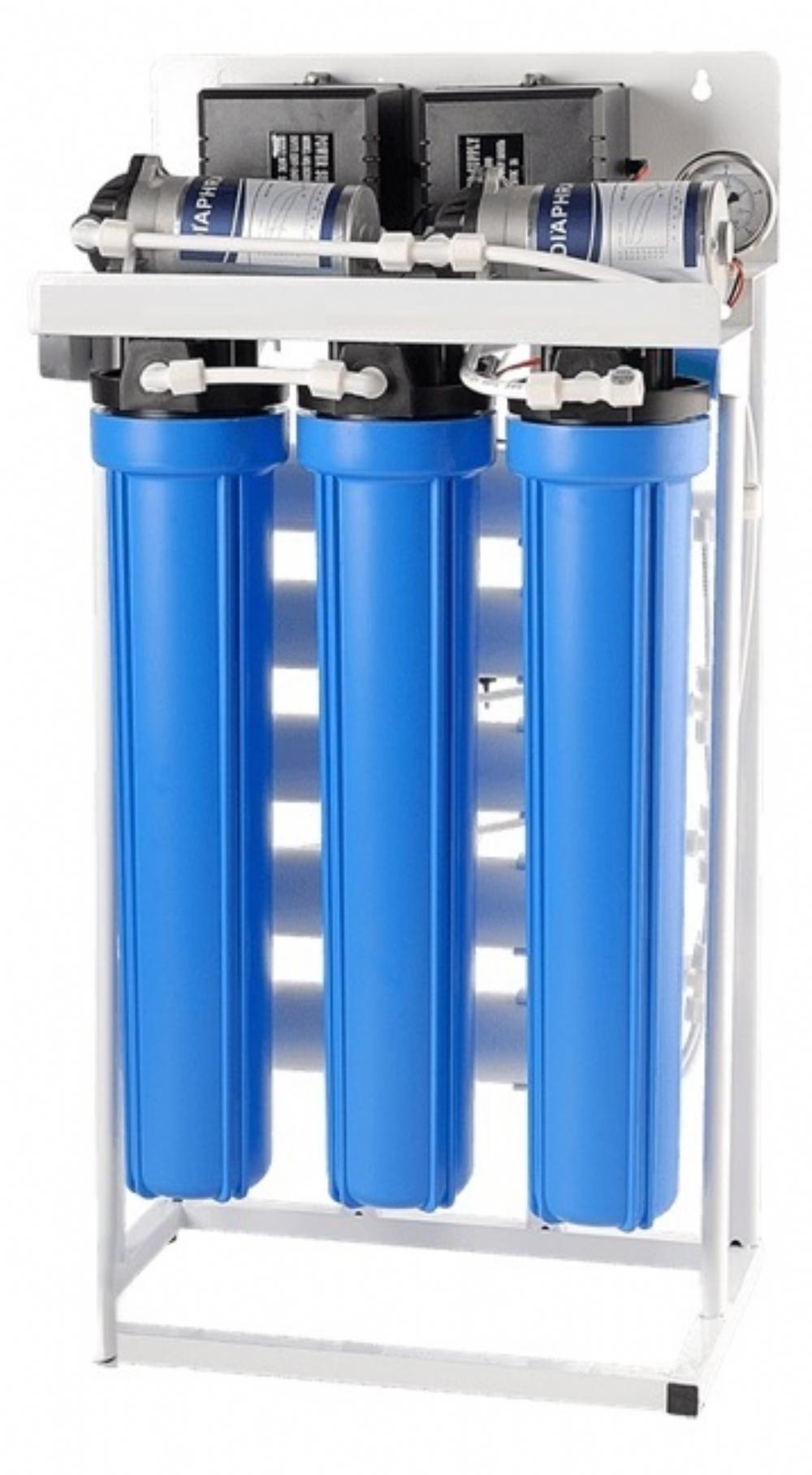 Ro-200 WP Pompalı Tezgahaltı Ters Ozmoz Sistemi 6 Aşamalı