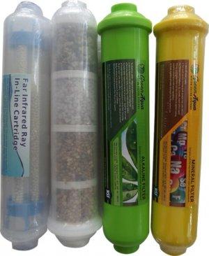 İnfrared Detoks Doğal Taş Alkali Ve Mineral Filtre 4ü Bir Arada