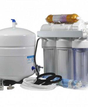 Açık kasa 5 aşamalı 12 litre tezgah altı su arıtma